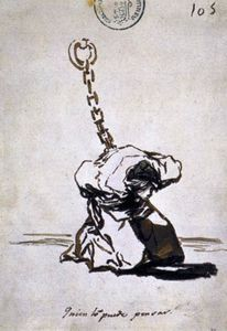 Who Can Think of It? - (Francisco De Goya)