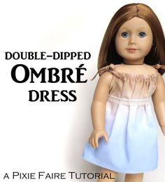 Double-Dipped Ombré Dress