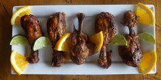 Slow Cooker Jerk Chicken Drumsticks