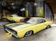'70 Road Runner rendering for client project.