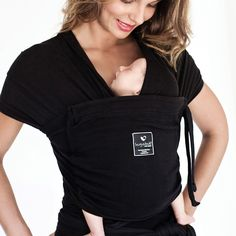 Hug-a-Bub Organic Pocket Wrap - Black