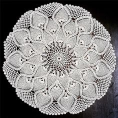 Inspired by the @craftastherapy theme this week: #craftastherapy_mygranny  This doily is probably 60 years old.  My great granny made it. Granny Keddie learner from her mum and she passed her knitting and crochet skills on to her children who in turn passed them on to their children (and grandchildren). I might not have the skill level that my granny and her mum had but in teaching me to knit and crochet my granny gave me hours of pleasure and joy.  #grateful #crochet #pineappledoily…