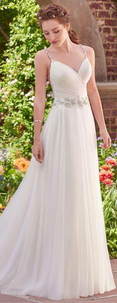 Wedding Dress by Rebecca Ingram - SHELLEY   Less than $1,000   #rebeccaingram #rebeccabride