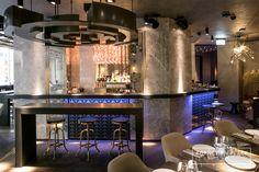 Le Baroque Cocktails bar - Geneva - www.enplace.fr - Station cocktail - Mise en place - Agencement bar