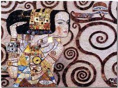 Klimt revisité - Maison de la Mosaïque Contemporaine en 2002