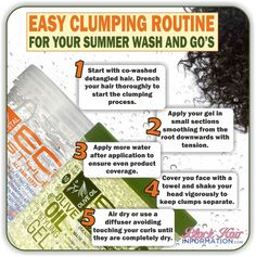 Easy clumping routine