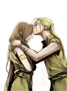 Van Hohenheim and Trisha Elric