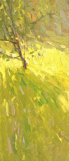 ☼ Painterly Landscape Escape ☼ landscape painting by Peter Bezrukov | Little apple-trees