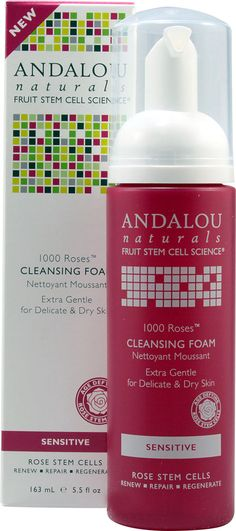 Andalou Naturals 1000 roses™ Cleansing Foam Sensitive. The best line of skin care i have ever used. All organic and GMO free!