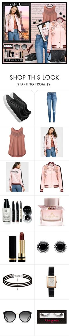 """""""zaful"""" by banhary ❤ liked on Polyvore featuring H&M, prAna, Linda Horn, Bobbi Brown Cosmetics, Burberry, Gucci, Thomas Sabo, Chanel, Dolce&Gabbana and Gorgeous Cosmetics"""