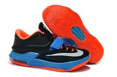 online retailer c1328 8a5d4 Big Boys KD 7 Away 653996 004 Black Photo Blue Hyper Crimson Silver