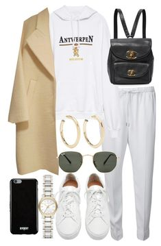 """Untitled #21740"" by florencia95 ❤ liked on Polyvore featuring Alexander Wang, Vetements, Loeffler Randall, Ray-Ban, Givenchy, Burberry and Kenneth Jay Lane"