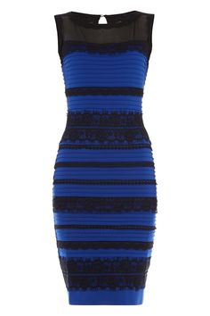 This is supposedly the white/gold or blue/black debatable dress, the reviews on it are pretty great!