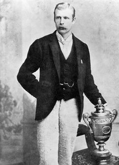 "Willoughby Hamilton (born as James Willoughby ""Willoby"" Hamilton 1864 - 1943) was a former co-World No. 1 Irish male tennis player & footballer. Hamilton won the Gentlemen's Singles title at the 1890 Wimbledon Championships, defeating William Renshaw in five sets, & becoming the first Irish player to win the tournament. Hamilton was educated at Trinity College Dublin"