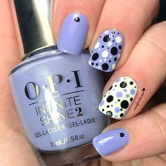 Preen.Me VIP Tracey's polka dot mani is making us spotty with envy! She used her gifted OPI Infinite Shine 2 Nail Lacquer in You're Such a Budapest and makes it last for #11DaysStrong using the new OPI Infinite Shine ProStay Primer and Gloss. Check out this how-to to snap up this preppy nail art!
