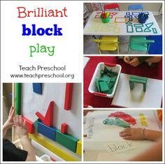 Brilliant block play by Teach Preschool