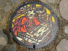 The Art of Japan's Manhole Covers | S.O.M.F