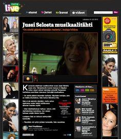 Jussi Selon haastattelu Metrolive.fi:ssä. Videohaastattelun on tehnyt Petri Voutilainen.