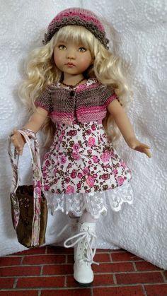 "OOAK 10 piece ensemble for 13"" Effner Little Darling & Similar dolls in Dolls & Bears, Dolls, Clothes & Accessories | eBay"