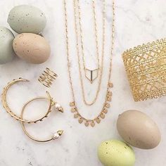 Spring time delicate beauties:). Click the image to shop the look or go to www.stelladot.com/hollyward #jewlery #fashion #easter #stelladot
