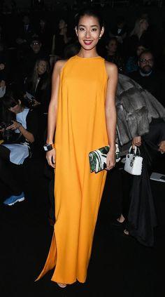 Front Row at Esprit Dior Tokyo - Celebrity Fashion Trends