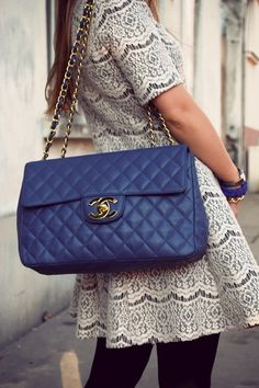 Great color.  #chanel #handbags