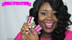 #PinkLipsticks #BreastCancerAwareness #Pink #Wocmakeup #WocBloggers #breastcancer #darkskinbeauty #makeupdarkskin #brownskin