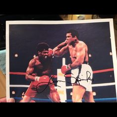 "Selling this ""Leon Spinks autograph 8x10 color photograph "" in my Poshmark closet! My username is: lisad352. #shopmycloset #poshmark #fashion #shopping #style #forsale #Leon Spinks #Accessories"