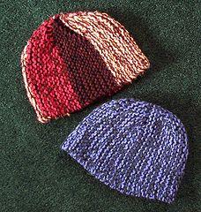 2af0477324b Ravelry  Mariella s Sideways Knit Hat pattern by Mariella Apodaca Headgear