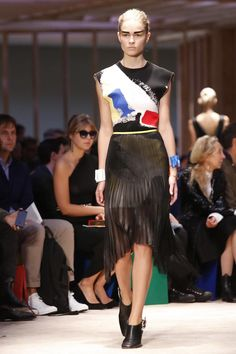 Celine fashion show ready to wear collection spring summer 2014 in Paris