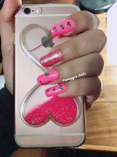 #love #nails #nailart #nailstagram #naildesigns #sanvalentin