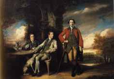 Henri Fane with His Guardians - Joshua Reynolds 1760