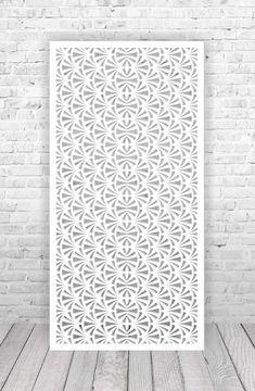 Laser Cut Screens, Laser Cut Panels, Room Divider Screen, Room Screen, Jaali Design, Cnc Cutting Design, Wallpaper Ceiling, Laser Cut Stencils, Grill Design