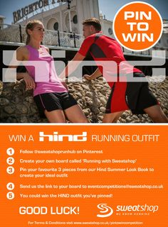 Pin to win with Sweatshop!