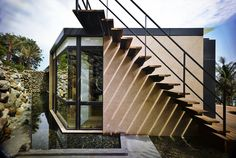 Detail from A'tolan House, Taiwan by Create + Think Design Studio