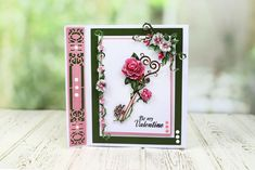 Part of the Enchanted Tales Collection by Tattered Lace Enchanted Book, Wax Paper, Card Maker, Be My Valentine, Flourish, Scrapbook Pages, Delicate, Crafty, Lace