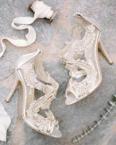 Romantic California Beautiful shoes - wedding shoes - Wedding Inspiration on the Seaside Cliffs of Palos Verdes Lace Bridal Shoes, Bridal Wedding Shoes, Wedding Boots, Bride Shoes, Mod Wedding, Prom Shoes, Elegant Wedding, Bridesmaid Shoes, Blue Bridal