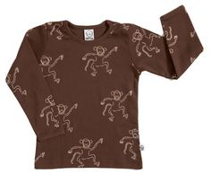 Ida T - Genser Monkey My Boys, Monkey, Playsuit, Monkeys, At Sign