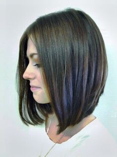 1000 ideas about Long Angled Bobs on Pinterest