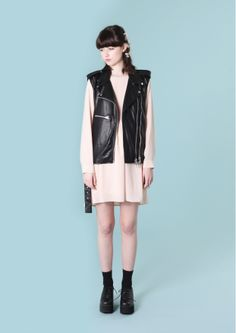 PU Leather Biker Jacket Vest Black http://www.thewhitepepper.com/collections/coats-jackets/products/pu-leather-biker-vest-black Back Button Smock Dress Pale Pink http://www.thewhitepepper.com/collections/dresses/products/back-button-smock-dress-pale-pink Leather Chunky Heel Brogue Black http://www.thewhitepepper.com/collections/shoes/products/leather-chunky-heel-brogue-black
