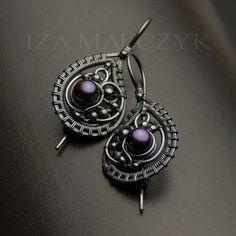 the Denim earrings