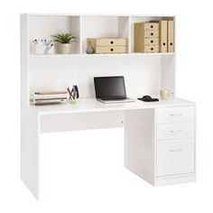 Shop Boston Large Hutch 3 Drawer Pedestal Desk with our Price Beat Guarantee. Buy with Afterpay or Zip. Enjoy free Click and Collect. Save with Officeworks. Bedroom Study Area, Bedroom Desk, Bedroom Furniture, Bedroom Wardrobe, Corner Hutch, Desk Hutch, Student Room, Student Desks, Reclaimed Wood Bookcase