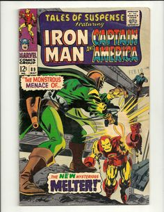 Tales Of Suspense No. 89 - Marvel Comics Group May 1967, featuring Iron Man And Captain America