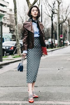 Would You Wear Red Patent Leather Pumps? via @WhoWhatWear