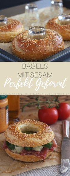 Bagels mit Sesam (& Geheimtrick!) | Bäckerina