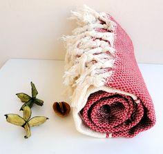 NATURAL Cotton Towel BambooEco Friendly PESHTEMALHigh by loovee, $25.00