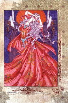 Fantasy Celtic Art Morrigan Na Badb 8x11 by JimFitzPatrickArtist, $24.95