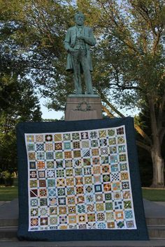 Looking for quilting project inspiration? Check out Civil War Love Letters Quilt by member Komiskey.