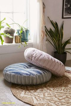 16 Ideas For Sewing Room Inspiration Floor Cushions Floor Seating, Lounge Seating, Round Floor Pillow, Zen Room, Floor Cushions, Big Floor Pillows, Big Pillows, Large Cushions, Outdoor Cushions