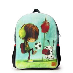 Petit sac à dos Ludo Ludo, School Readiness, Back To School, Football, Backpacks, Small Backpack, Zipper, Clutch Bags, Bags